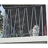 Katzenschutz Netz Schutznetz Katzen Netz Freigang Auslauf Balkonnetz Windhager, Größe:2.5 x 4m