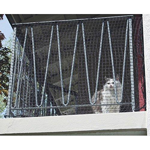 *Katzenschutz Netz Schutznetz Katzen Netz Freigang Auslauf Balkonnetz Windhager, Größe:2.5 x 4m*
