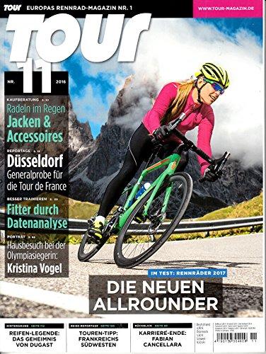 Tour 11 2016 Die neuen Allrounder Zeitschrift Magazin Einzelheft Heft Fahrrad Rennrad