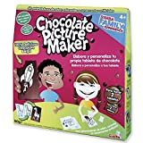 Chocolate Picture Maker Set für Schokoladen-Tabletten, Schwarz (Simba/Simply Kids 5957465)