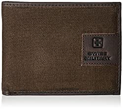 Swiss Military Brown Leather Wallet (LW-20)