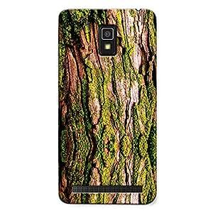 DASM United Lenovo A6600 Premium Back Case Cover - Green Tree Texture