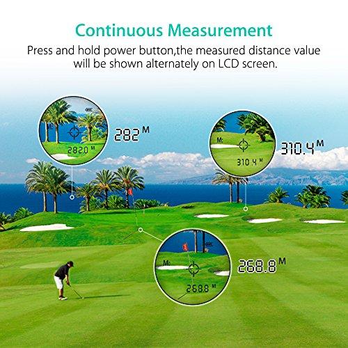 Zoom IMG-2 monocolo telemetro golf rangefinder ingrandimento