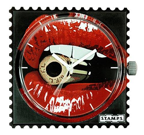 S.T.A.M.P.S. Stamps Uhr, Zifferblatt Frogman, wasserdicht Bulletproof 104261
