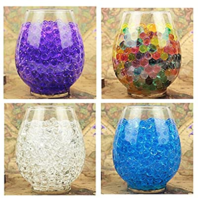 Bei wang 5000 x Mixed Colors Crystal Water Gel Beads Jelly Water Pearl