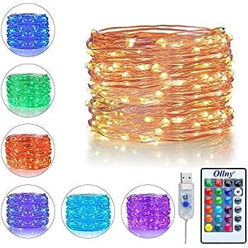 Led String Lights Usb Powered Multi Color Changing String