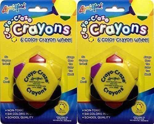 crayo-craze-crayons-6-color-crayon-wheel-pack-of-2-by-liqui-mark