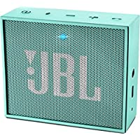 JBL Go Ultra Portable Rechargeable Bluetooth Speaker with Aux-In Compatible - Teal