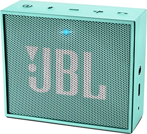 JBL Go - Altavoz portátil para smartphones, tablets y dispositivos MP3(3 W, Bluetooth, recargable, AUX, 5 horas), color verde