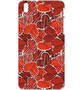 a AND b Designer Printed Mobile Back Cover / Back Case For HTC Desire 816 (HTC_816_3D_820)