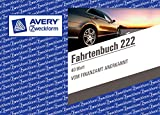 3er Pack Avery Zweckform 222 Fahrtenbuch DIN A6 quer steuerlicher km Nachweis
