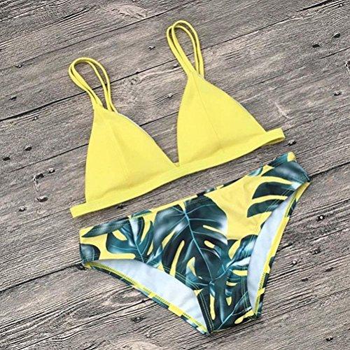 Ba Zha Swimwear -  Tankini  - Donna Yellow
