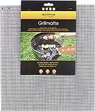 Grillmatte eckig 36x40 cm | Wiederverwenbare BBQ Grillmatte für Gasgrill & Holzkohlegrills mit Antihaftbeschichtung | MUST HAVE Grill Zubehör
