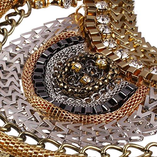 enorme Lolita 2015 Conception Chaude Declaration De La Chaine Collier Colore Dossard Collier De Chaine Gris