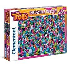 Clementoni 39369 - Impossible Puzzle Trolls, 1000 Pezzi