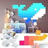 nanoleaf Canvas 21er Set | App- & Touch-Steuerung, Sound-Modul, 16 Millionen Farben | Alexa/Echo, Apple HomeKit & google assistant kompatibel, Plug & Play