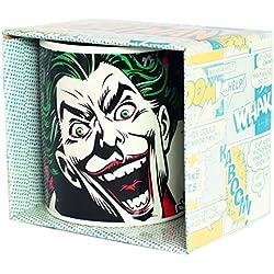 Batman mugbbm31Joker Taza de café, cerámica, blanco, 12x 10x 9cm