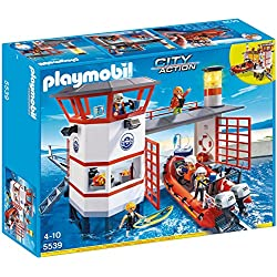 Playmobil Guardacostas - Estación con Faro, playset (5539)