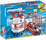 Playmobil 5540 City Action Coast Guard Rescue Boat with Water Hose