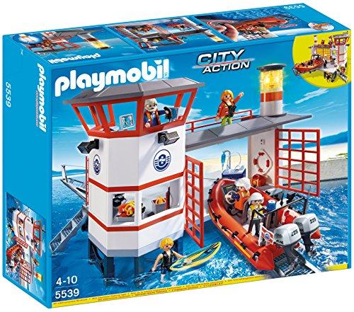 Playmobil Guardacostas - Estación con Faro