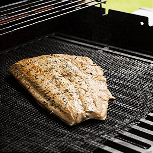 61XR1BlwhbL - BeautyTop 1PC BBQ Grill Mat Mat Matte Nonstick Pad Fiberglas Grill Pad Grill Folie Werkzeug (40 x 40cm)