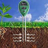 Boden PH-Messgerät,-in Boden Test Kit für Feuchtigkeit, Licht & ph, für Haus und Garten, Rasen, Farm, Pflanzen, Kräutern und Gartengeräte,, Innen/Außen Pflege Erde Tester