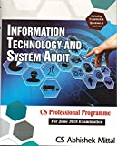 Pooja Law Publishing Co.'s Information Technology and Systems Audit (ITSA) for CS Professional June 2018 Exam