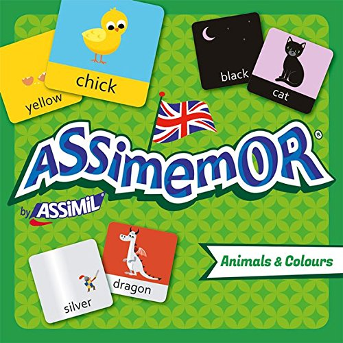 Assimemor animals and colours (coffret jeu de 64 cartes)