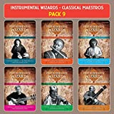 #9: INSTRUMENTAL WIZARDS CLASSICAL MAESTROS - PACK 9 ( Biggest Albums From Greatest Classical Artist, Set Of 18 Cds With 45 Tracks)