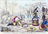 SATIRE GILLRAY 1805 THE SURRENDER OF ULM GIANT WALL POSTER