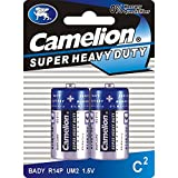 Camelion 10200214 Super heavy duty Batterien R14/ Baby/ 2er Pack