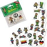 Lutz Mauder Lutz mauder7262Fußball Mini Tattoo Set (eine Größe, 24)