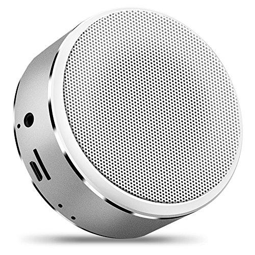 Bluetooth Jbl-akustik-sound (Mr. Fragile Bluetooth Lautsprecher Tragbare Karte Mini Subwoofer Wireless A8 Lautsprecher,Silver)