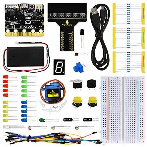 ViewTek ks0306-Starter-Set für BBC Micro: Bit- mit Guide Lehren, Foto und Tutorials-Lernen Einfache - Micro Guide
