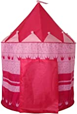 Magideal Childrens Pop-Up Castle Princess Play Tent PlayHouse Indoor Outdoor Boy Pink