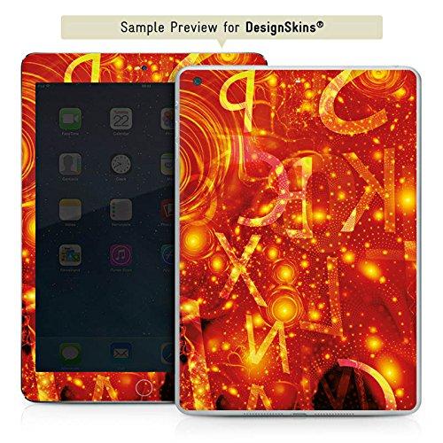 DeinDesign Apple iPad Mini 4 Case Skin Sticker aus Vinyl-Folie Aufkleber Muster Abstarkt Glut
