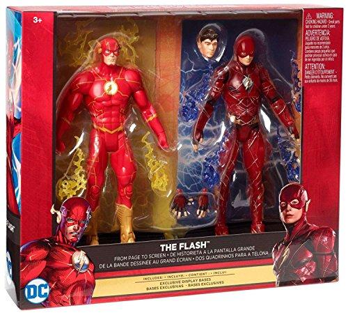 Figur Set DC Comics Multiverse Justice League The Flash & Rebirth The Flash 6