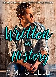 Written in History (Wolfe Creek Series Book 4)