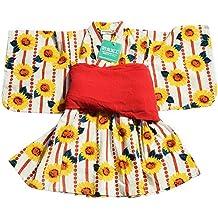 Vestido de Pijamas de Kimono de Kimono Estilo japonés para niñas - # 02