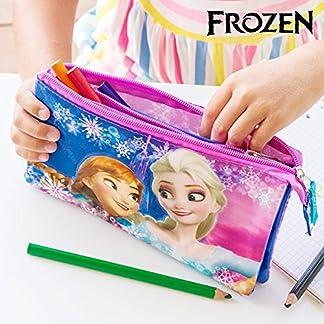 Estuche Escolar 3D Frozen