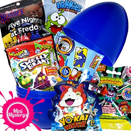 Mini Mysterys Überraschungsei-Spielzeug-Set inkl. Yo-Kai Uhr, Five Nights at Freddys Blind Bags
