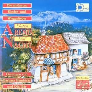 Deutsche Wiegenlieder (Guten Abend, gut Nacht)