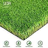 Lita Premium 35mm altezza erba artificiale, realistico e spessa finta finta erba Mat, outdoor Garden Dogs Pet erba sintetica, tappeto zerbino in gomma con fori di drenaggio, 1mx10m