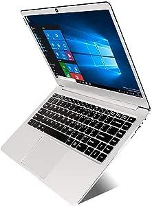14 inch Laptop (Intel x5-E8000 64-bit, 4GB DDR3 RAM, 64GB SSD, Dual 4500mAH battery, HD webcam, Windows 10 OS, 1366 * 768 FHD IPS display)Notebook