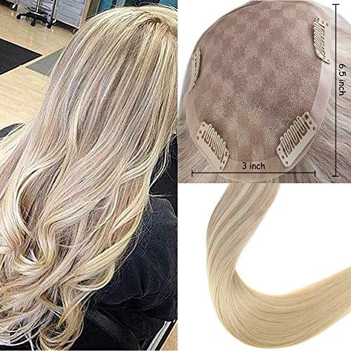pper Hair für kurzes Haar 14 Zoll Farbe # 18 Aschblond Verblassen auf Farbe # 22 mit Farbe # 60 Platinblond Cap Größe 6.5 * 3