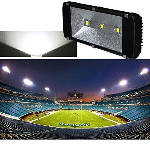 Hengda® LED 300W Fluter Spot Kaltweiß 27000LM Aussen Strahler 230V Scheinwerfer Gartenleuchte Leucht