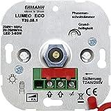 Ehmann 3900x0800 Unterputz Dimmer Geeignet für Leuchtmittel: Energiesparlampe, LED-Lampe, Halogenla