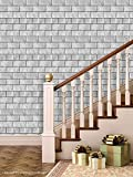 Printelligent Brick Wallpapers. High Quality Stone Brick Wall Effect Pre Gummed Wallpaper (Self Adhesive) wallpaper 14