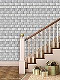 Printelligent Brick Wallpapers. High Quality Stone Brick Wall Effect Pre Gummed Wallpaper (Self Adhesive) wallpaper 14