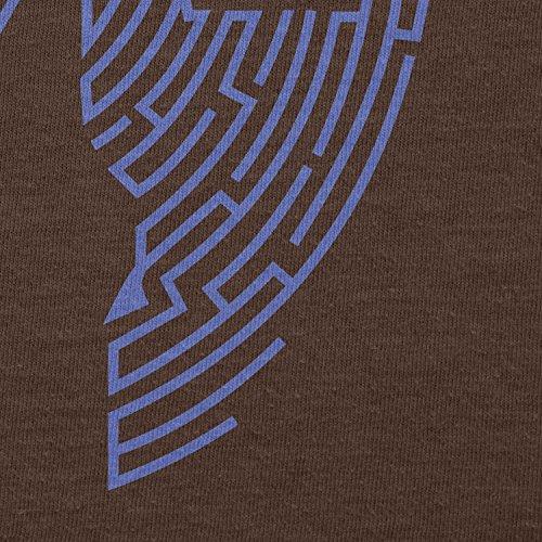 TEXLAB - Triforce Labyrinth - Herren T-Shirt Braun